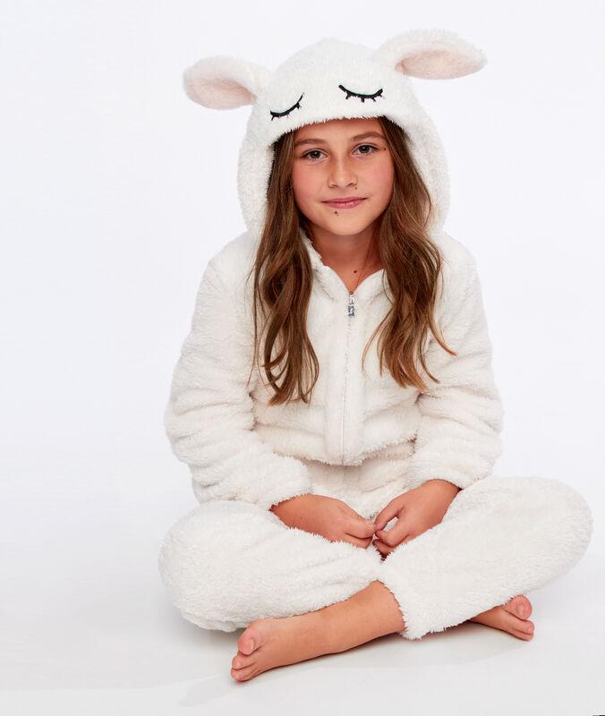 Děti overal králík ecru.