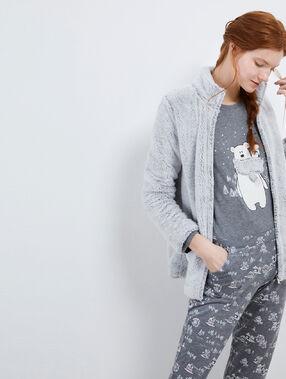 Třídílné pyžamo medvídci gris.