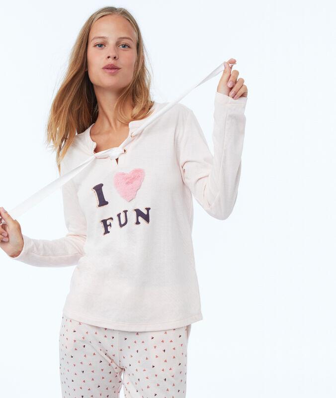 Sweat homewear růžová.