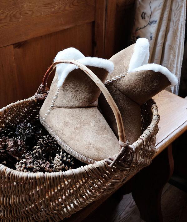 Boty podšité kožešinou