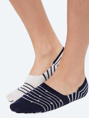 2 páry nízkých ponožek fantazie    marine.