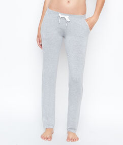 Teplákové kalhoty šedá.