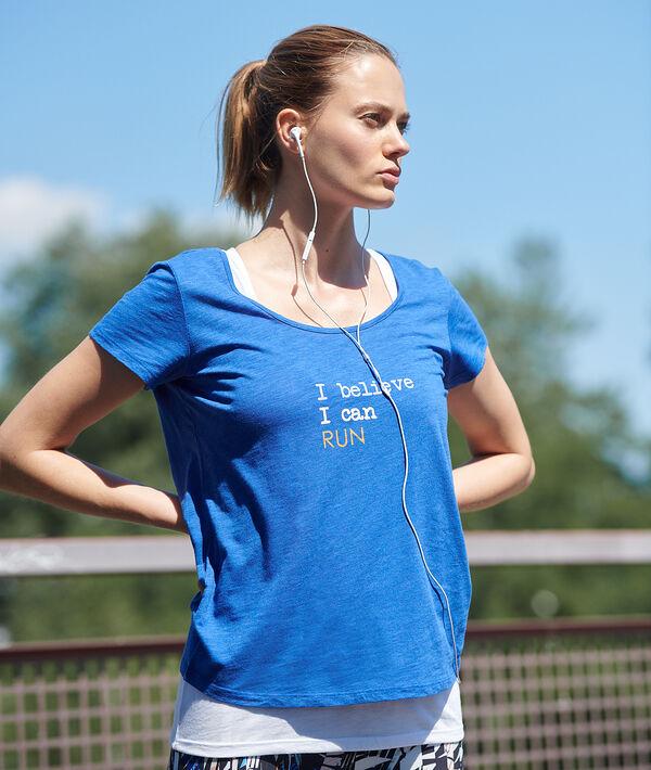 Tričko na trénink, integrované tílko