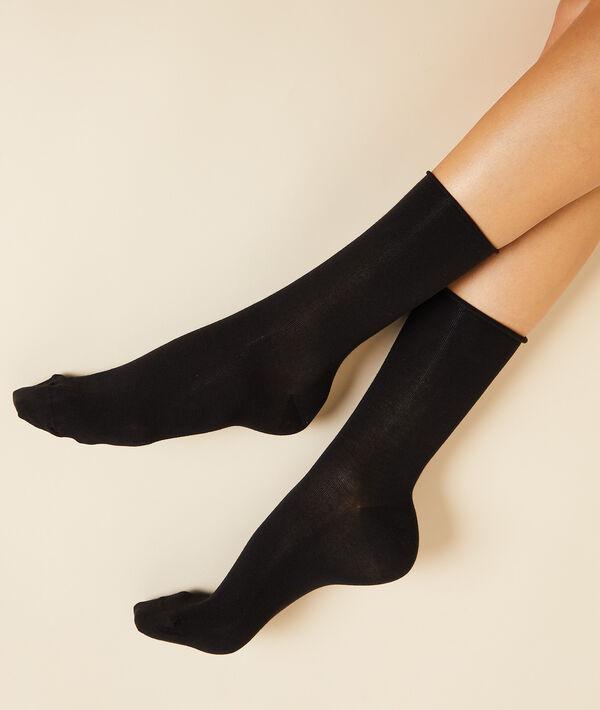 2 páry ponožek z organické bavlny;${refinementColor}