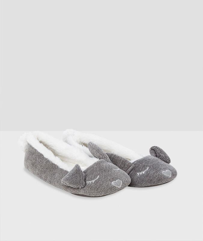Balerínky sušima králíka šedá.