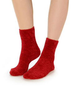 Chaussettes rouge.