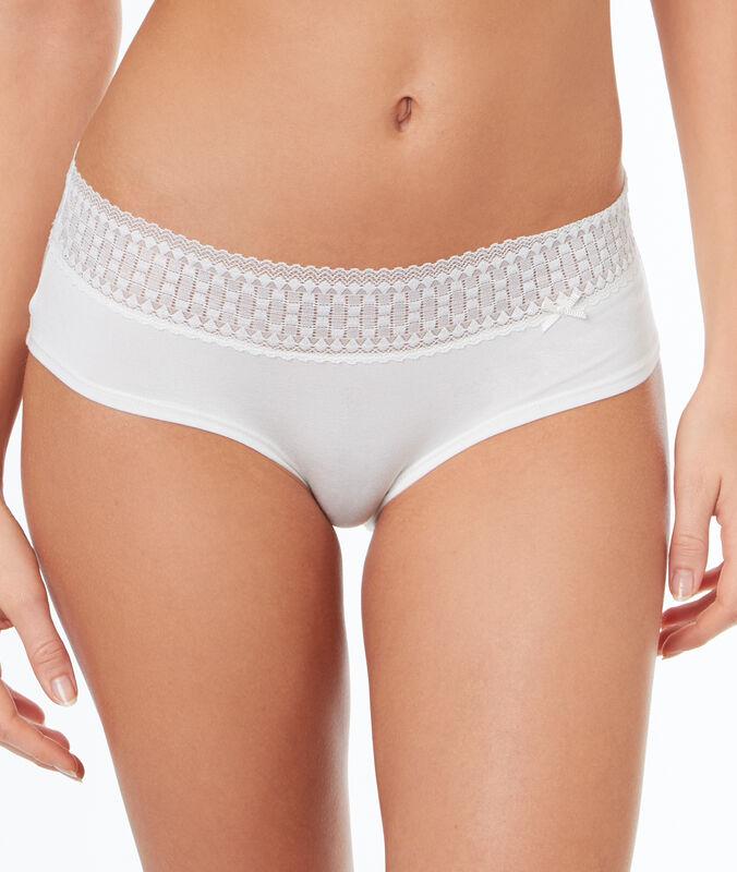 Kalhotky shorty lehce přizpůsobivé  blanc.