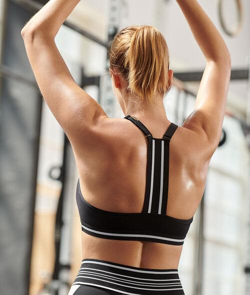 Sportovní podprsenka s plaveckými zády - lehká podpora