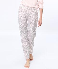 Kalhoty s nápisem rose.