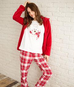 3 dílné pyžamo rouge.