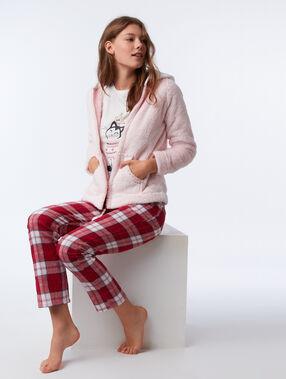 Třídílné pyžamo kočka rose.