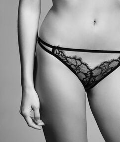 Kalhotky brazilky guipure noir.