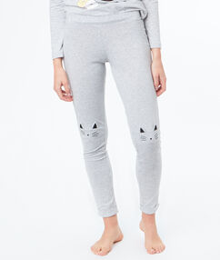 Pantalon gris.