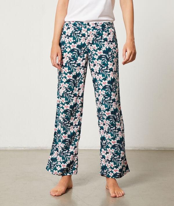 Kalhoty s květinovým potiskem;${refinementColor}