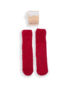Krabička s protiskluzovými ponožkami rouge.