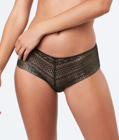 Krajkové kalhotky shorty or.