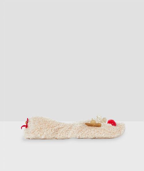Papuče ve tvaru sobů
