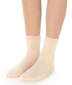 Silné ponožky rose poudre.