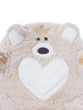Pléd medvěd skládací beige.