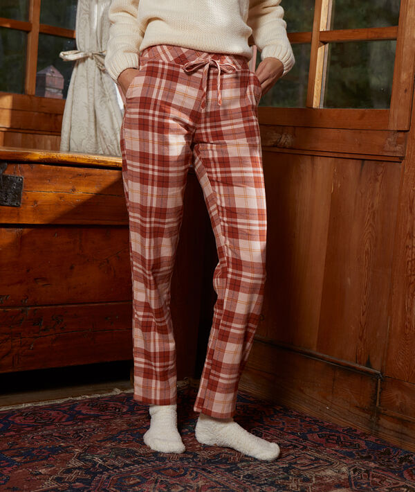 Kárované kalhoty;${refinementColor}
