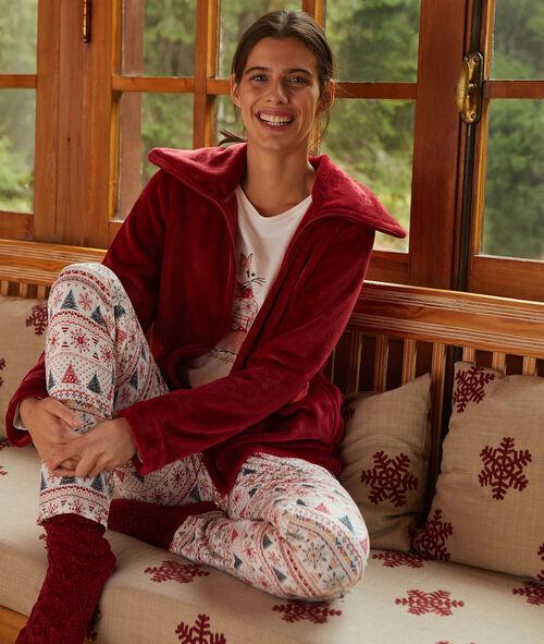 """Třídílné pyžamo """"není mi zima"""""""