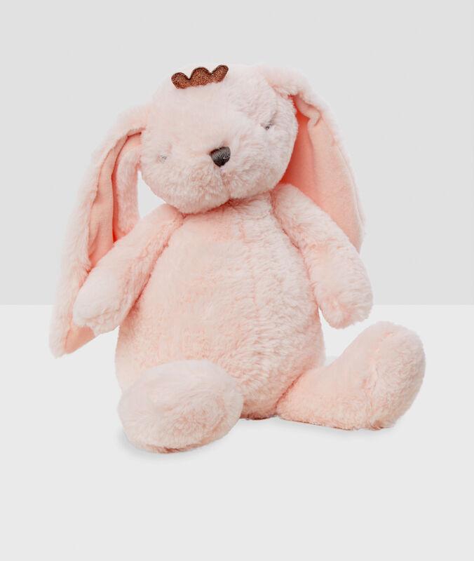 Pytlík na pyžamo ve tvaru králíka růžová.