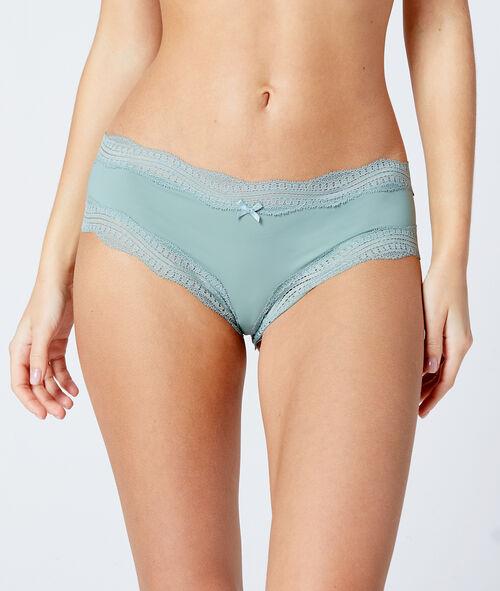 Krajkové nohavičkové kalhotky s lemem