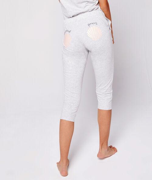 Tříčtvrteční pyžamové kalhoty