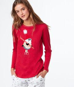 Tričko s potiskem rouge.