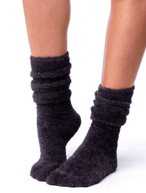 Ponožky s kovovými vlákny anthracite.
