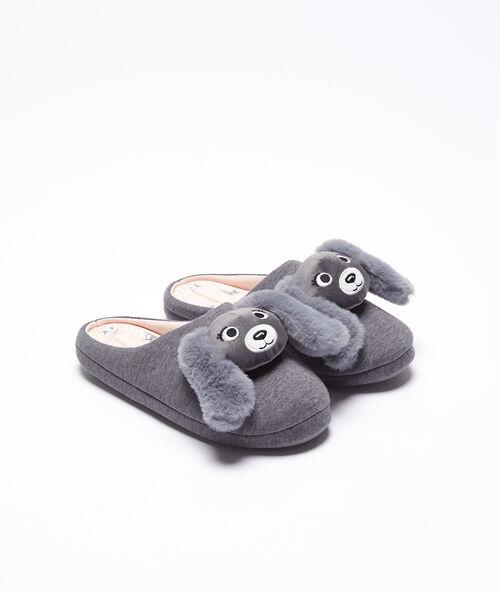 Pantofle s pejsky