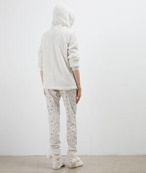 Třídílné pyžamo sněhulák béžová.