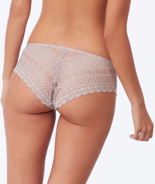 Krajkové nohavičkové kalhotky
