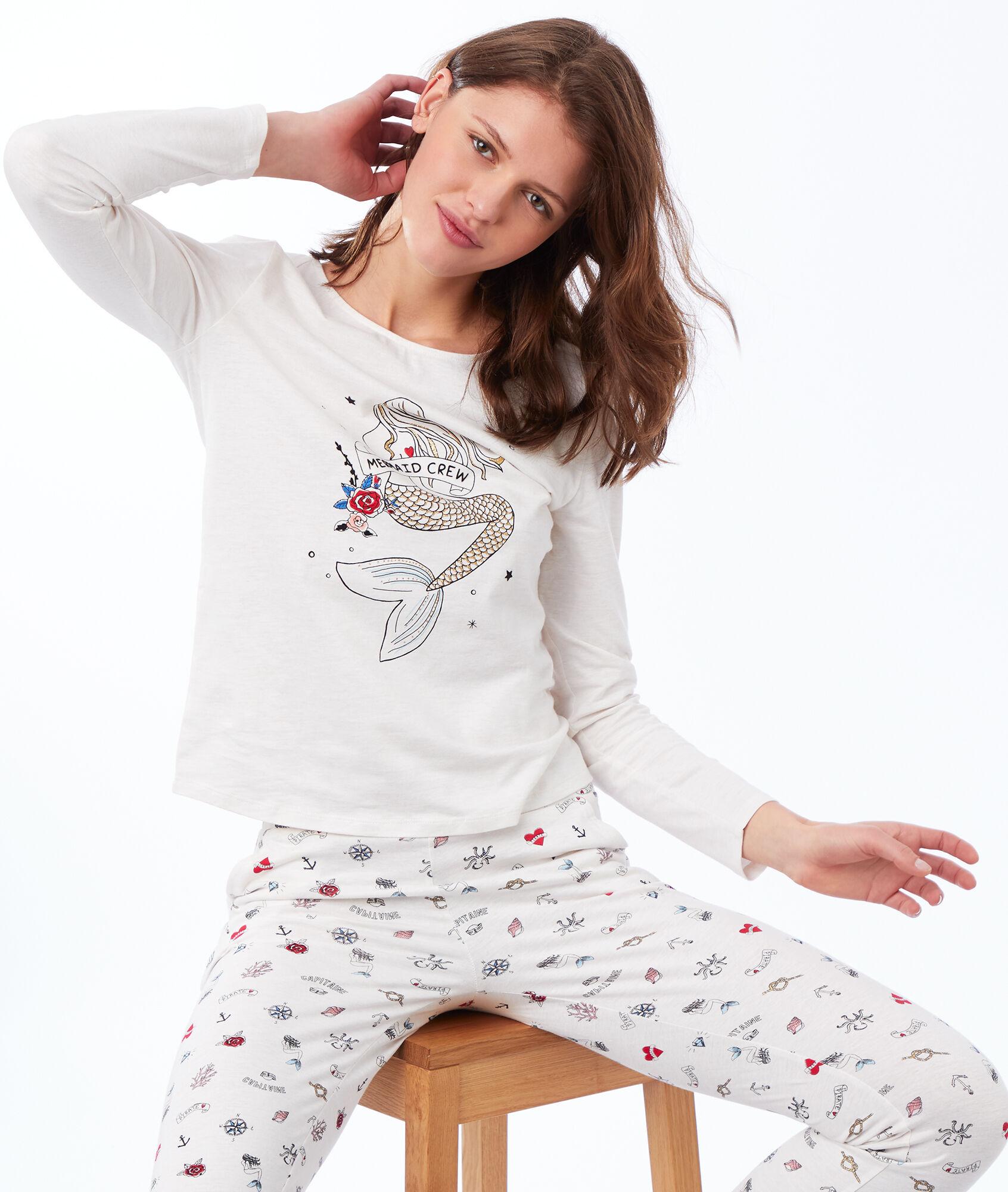 f03ec7edcd Printed trousers - Etam