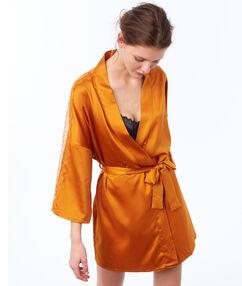 Kimono okrová.