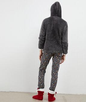 Třídílné pyžamo slon antracitová.