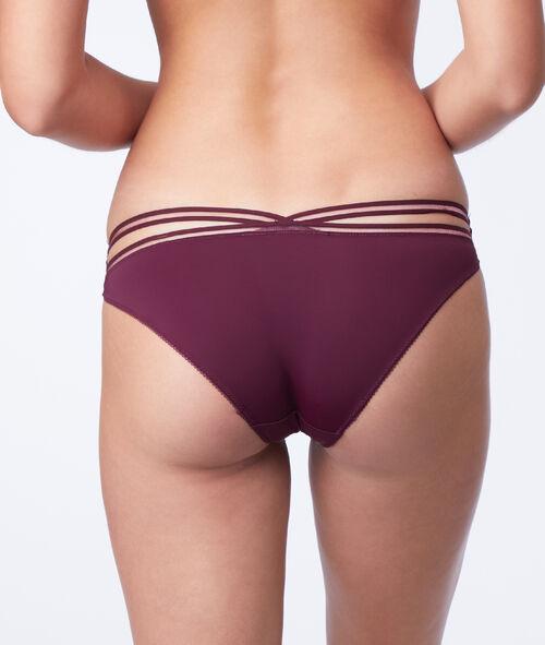 Kalhotky ze dvou materiálů
