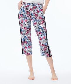 Krátké kalhoty s potiskem modrá.