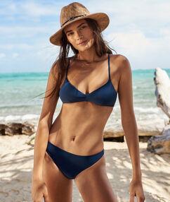 Bas de bikini simple marine.