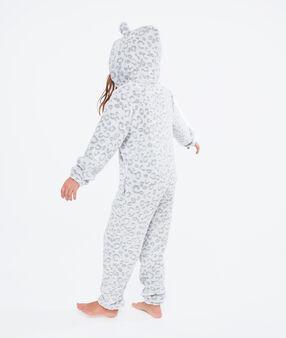 Pyžamová kombinéza panter dětská gris.
