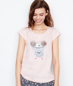 Tričko s potiskem rose.