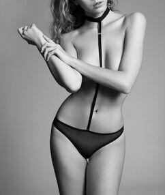 Mesh sexy body chocker noir.