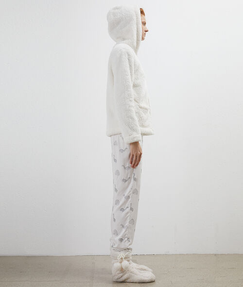 Třídílné pyžamo se zapínáním hvězda