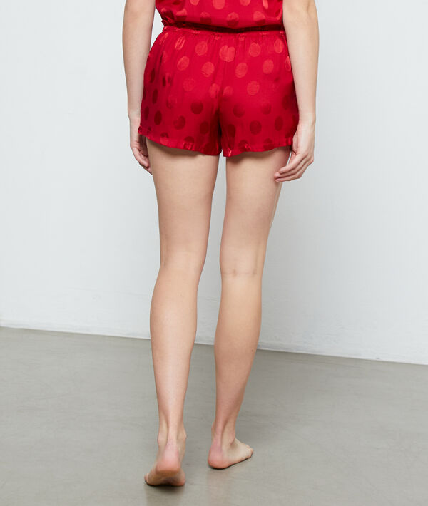 Tečkované pyžamové šortky;${refinementColor}