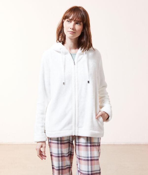 Veste polaire à capuche homewear;${refinementColor}