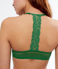 Podprsenka č. 5 – krajková opisující křivky, zápasnická záda vert nil.