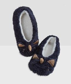 Papuče jednorožec 3d bleu gris.