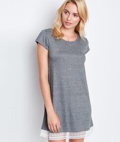 Noční košilka šedá.