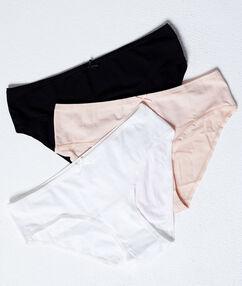 Sada 3 bavlněných kalhotek  více barev.