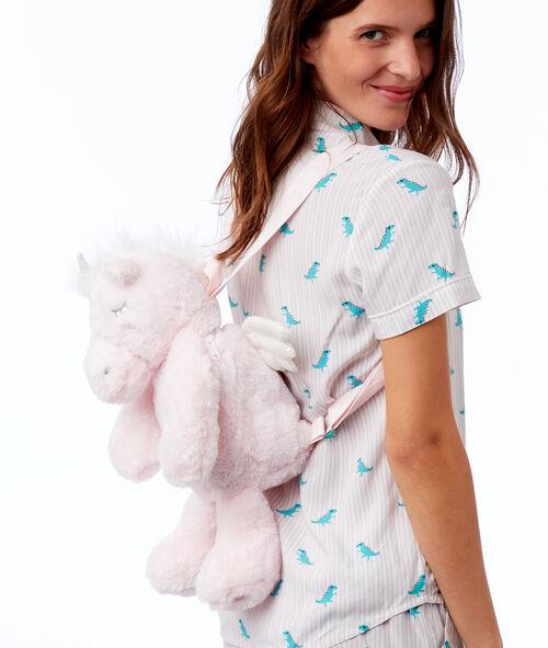 Batůžek na pyžamo ve tvaru dinosaura